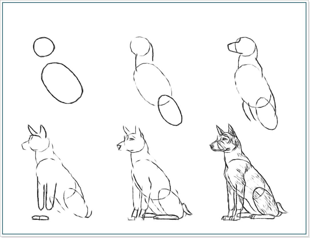 Как карандашом нарисовать