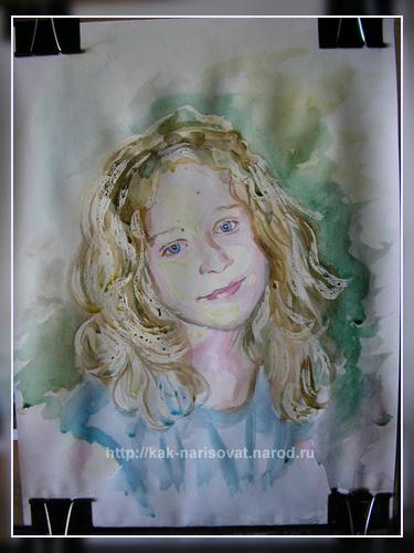 Как рисовать портрет с фотографии