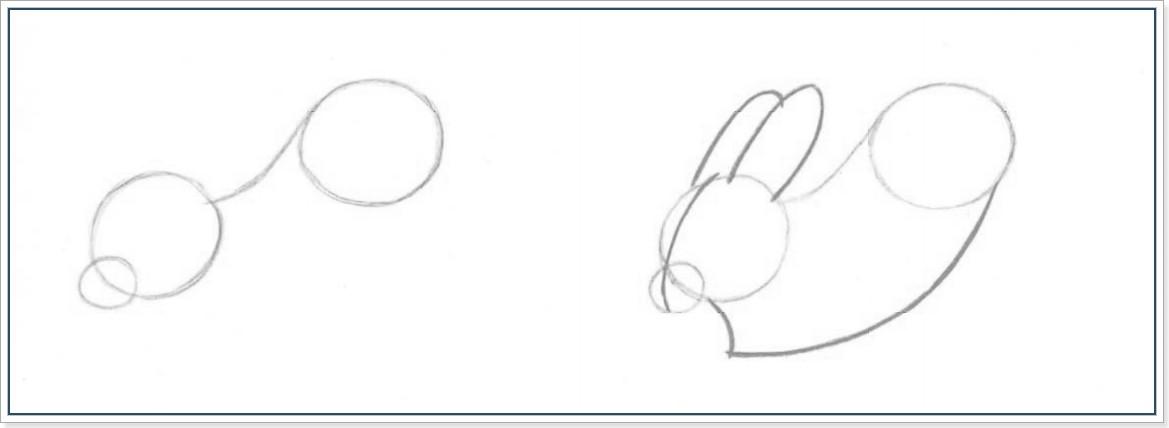 Ка нарисовать зайца