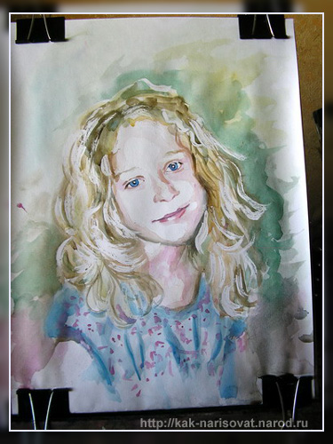 Как рисовать портрет портрет поэтапно