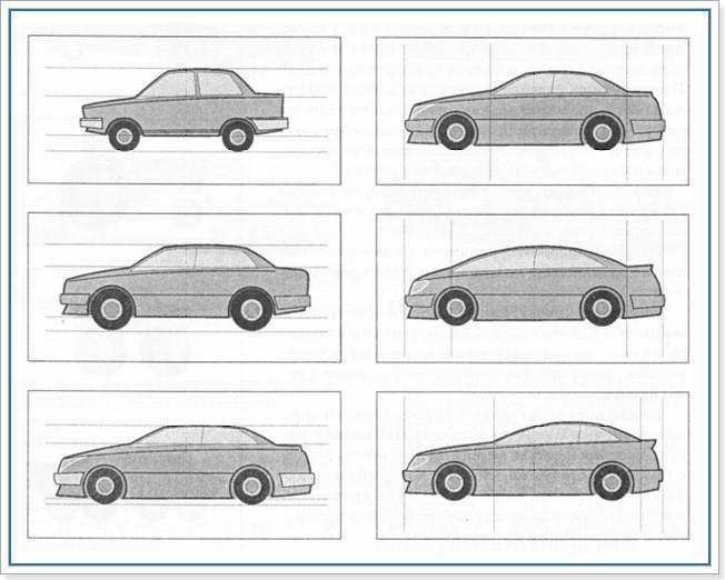Учимся рисовать автомобиль карандашом