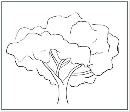 Как рисовать дерево