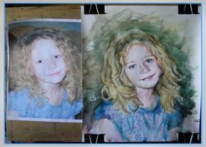 Как научиться правильно рисовать портрет человека